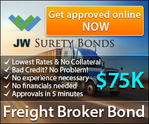 $75K Freight Broker Bond with No Collateral