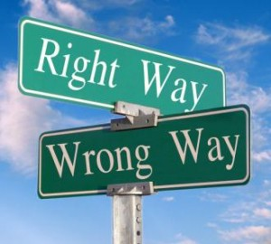Wrong way for truck owner operators