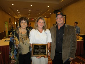 "Hope Rivenburg- Winner of the 2011 ""Making a Differnce Award"""