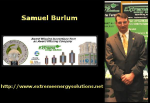 Samuel Burlum of Extreme Energy Solutions