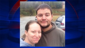 Trucker Michael Boeglin and his wife, Ashley. (Photo from Fox 2 Detroit)