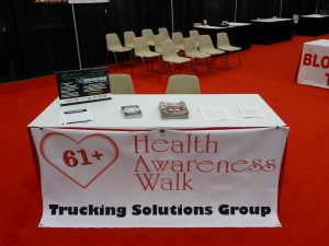 Trucking Solutions Group Health Awareness Walk