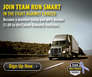 Support Cancer Research by joining Team Run Smart