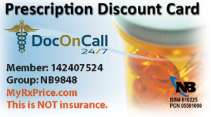 DocOnCall24/7 Prescription Discount Cards