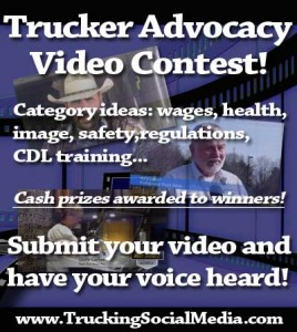 Trucker Advocacy video Contest