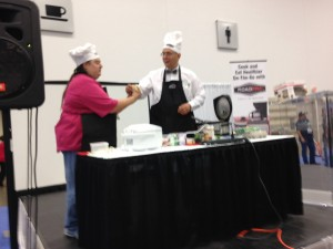 Tom Kyrk of Road Tested Living- Food Demos for Truck