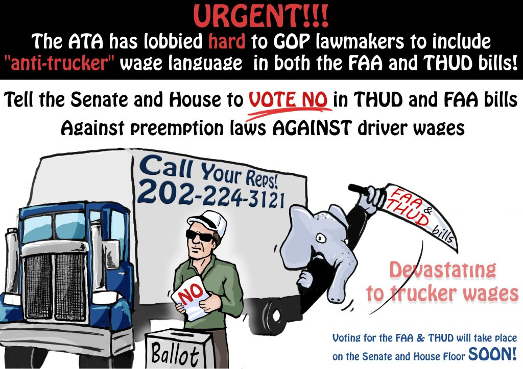 FAA and Thud bill