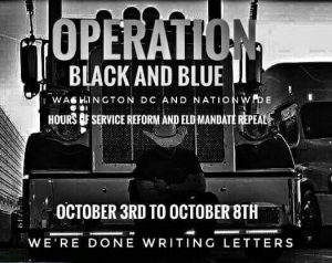Operation black and blue protest